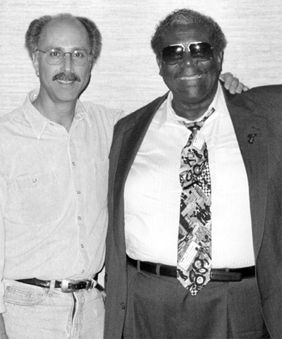 Denny Diante and BB King